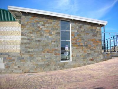 Fachada ventilada pizarra materiales de construcci n - Precio fachada ventilada ...